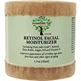 MOUNTAIN TOP Retinol Facial Moisturizer (1.7oz / 50ml) - For Wrinkles, Age Spots, Fine Lines, and Other Signs of Aging - Made