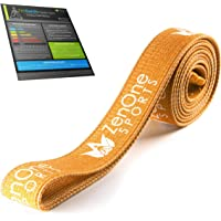 ZenBands Power Fabric Resistance Bands Set, 1 Fitness band in 6 Different Sizes Strengths, Resistance Bands for Training…