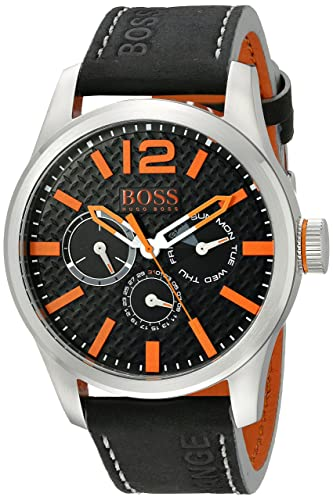 Hugo Boss 1513228 - Reloj de pulsera hombre, color Negro: Hugo Boss: Amazon.es: Relojes