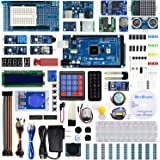 REXQualis Most Complete Starter Kit Base on Arduino MEGA 2560 w/Detailed Tutorial Compatible with Arduino IDE