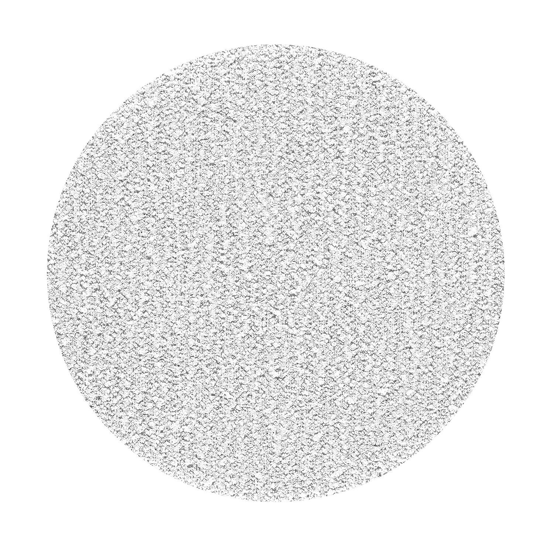 100 St/ück 50 mm Exzenter Schleifscheiben P240 K/örnung ohne Lochung Haft Klett Schleifpapier