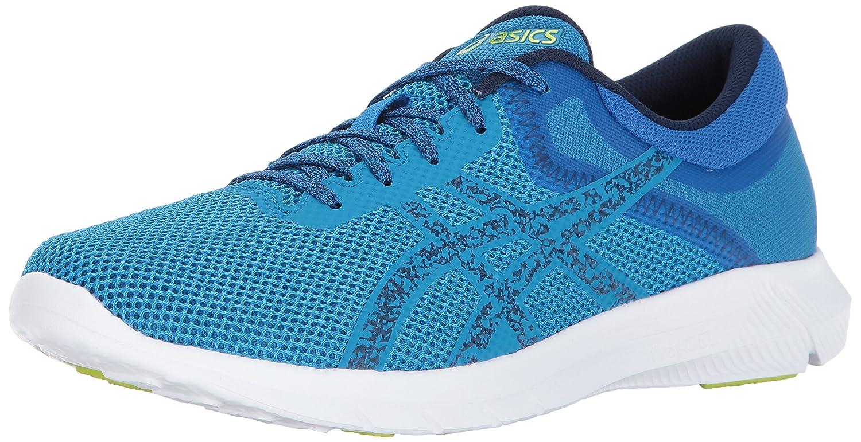 ASICS Men's Nitrofuze 2 Running Shoe B01MQGFF5E 7.5 D(M) US|Hawaiian Surf/Indigo Blue/Energy Green
