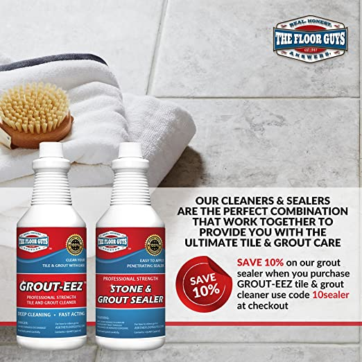 Amazoncom IT JUST WORKS GroutEez Super Heavy Duty Tile Grout - Does grout cleaner work