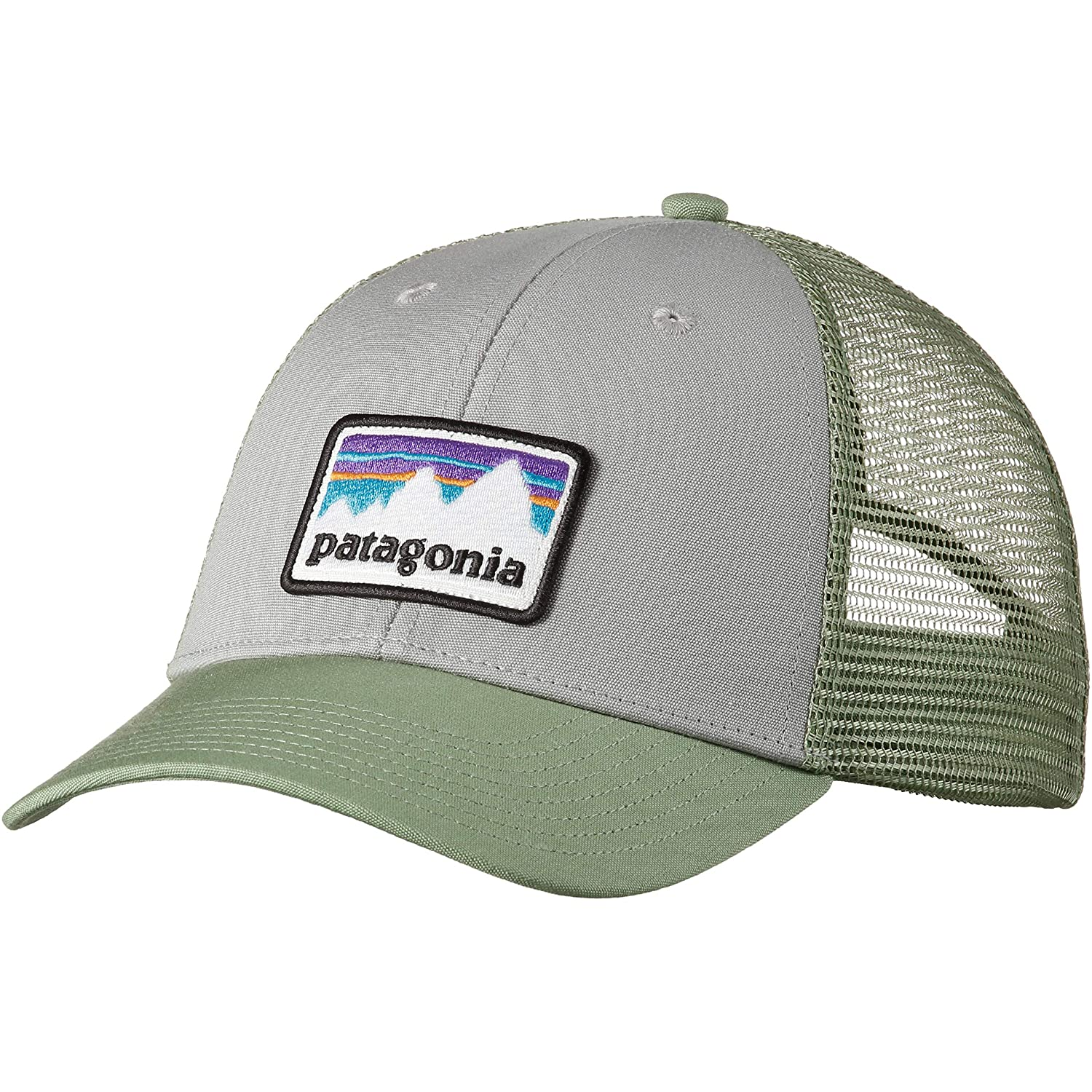 Patagonia Shop Sticker Patch LoPro Trucker Hat Gorra 30cc481420a