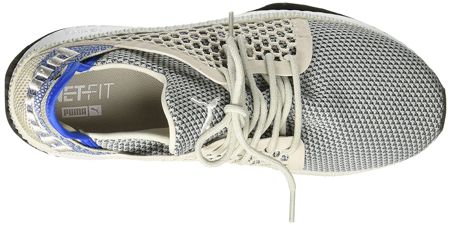 Amazon.com | PUMA Mens Grey Violet Tsugi Netfit Trainers | Fitness & Cross-Training