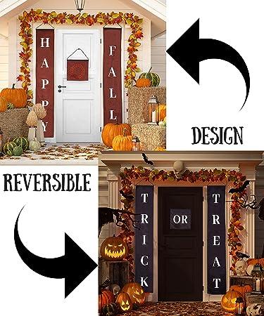 Amazon.com: Decoración de otoño para Halloween, juego de 3 ...