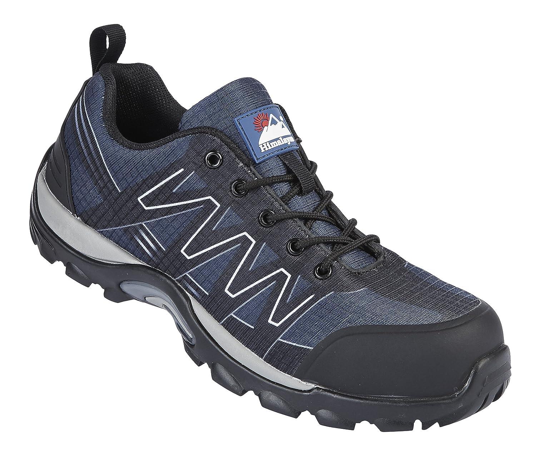 Himalayan - Zapatillas de seguridad de Otra Piel hombre, color Azul, talla 47: Amazon.es: Industria, empresas y ciencia