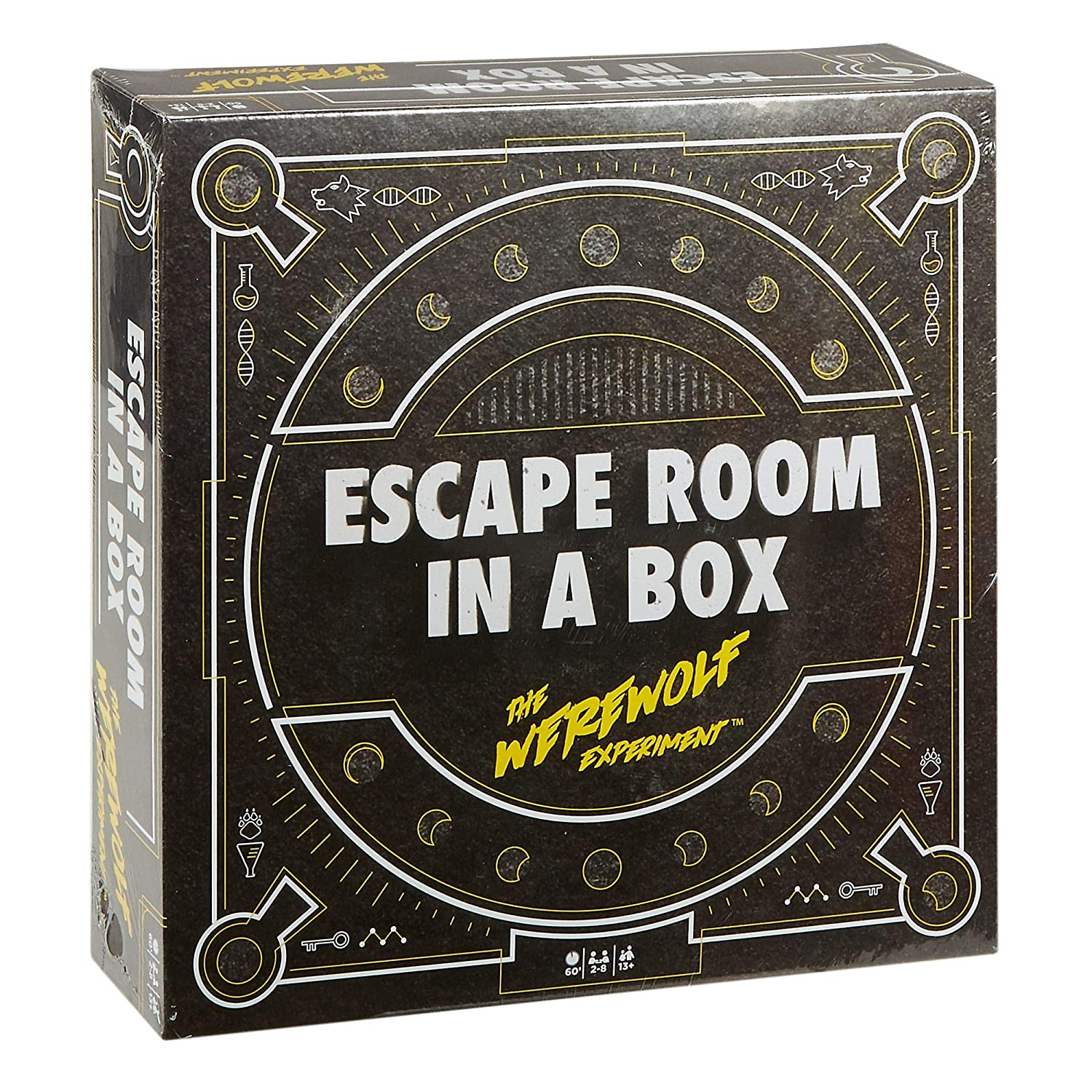photo about Free Printable Escape Room Game titled Escape Area within just a Box: The Werewolf Experiment, Board Sport for Grown ups and Young children 13+