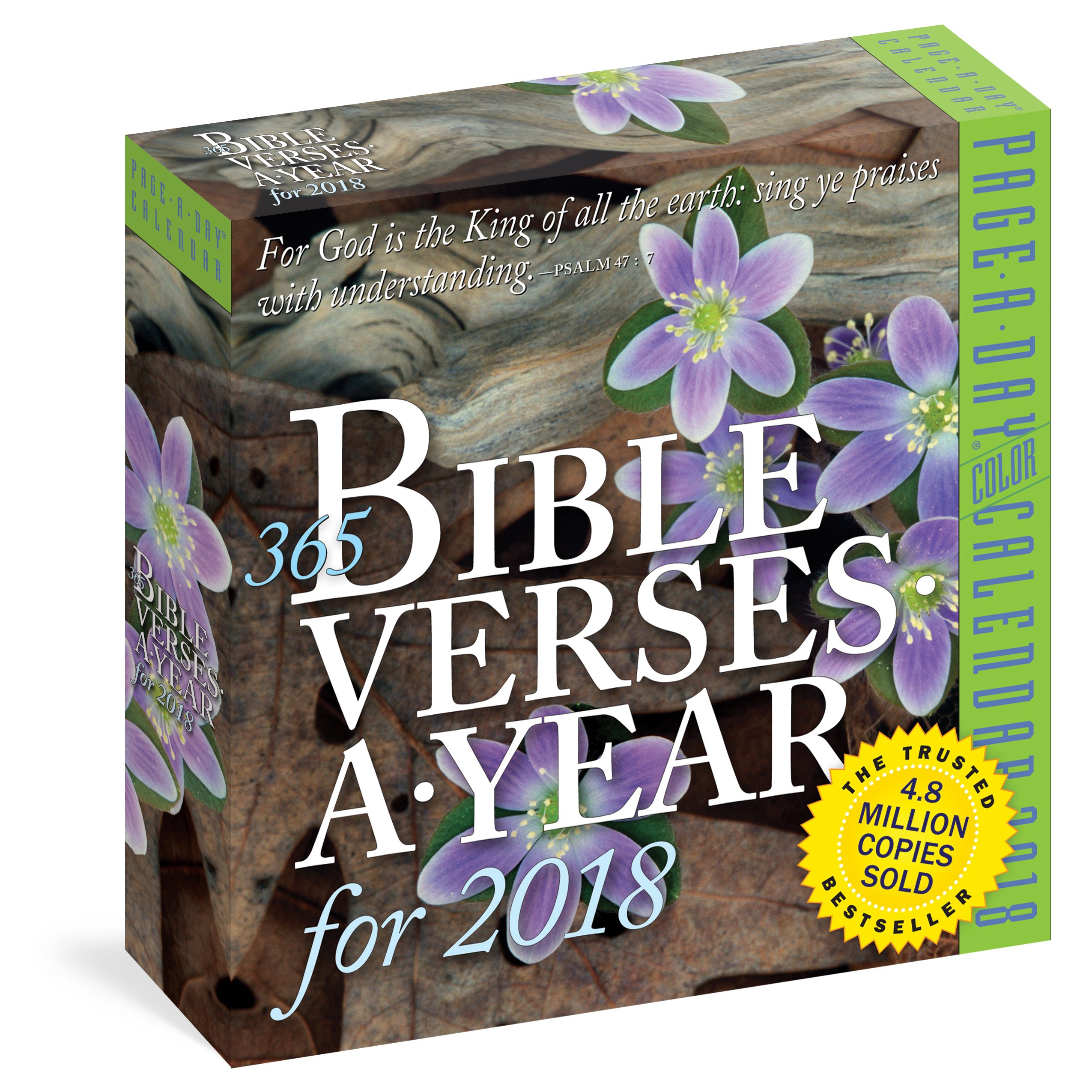 365 Bible Verses-A-Year Page-A-Day Calendar 2018 by Workman Publishing Company