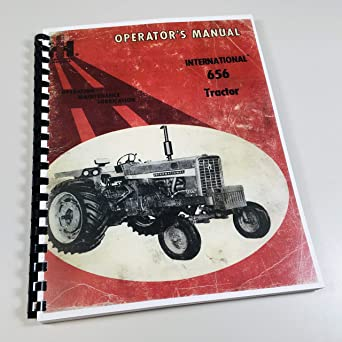 farmall 460 light wiring diagram amazon com international farmall 656 tractor owners operators  international farmall 656 tractor