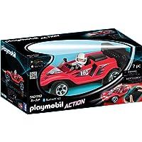 Playmobil 9090 Voiture de Course Rouge Radiocommandée, Rouge