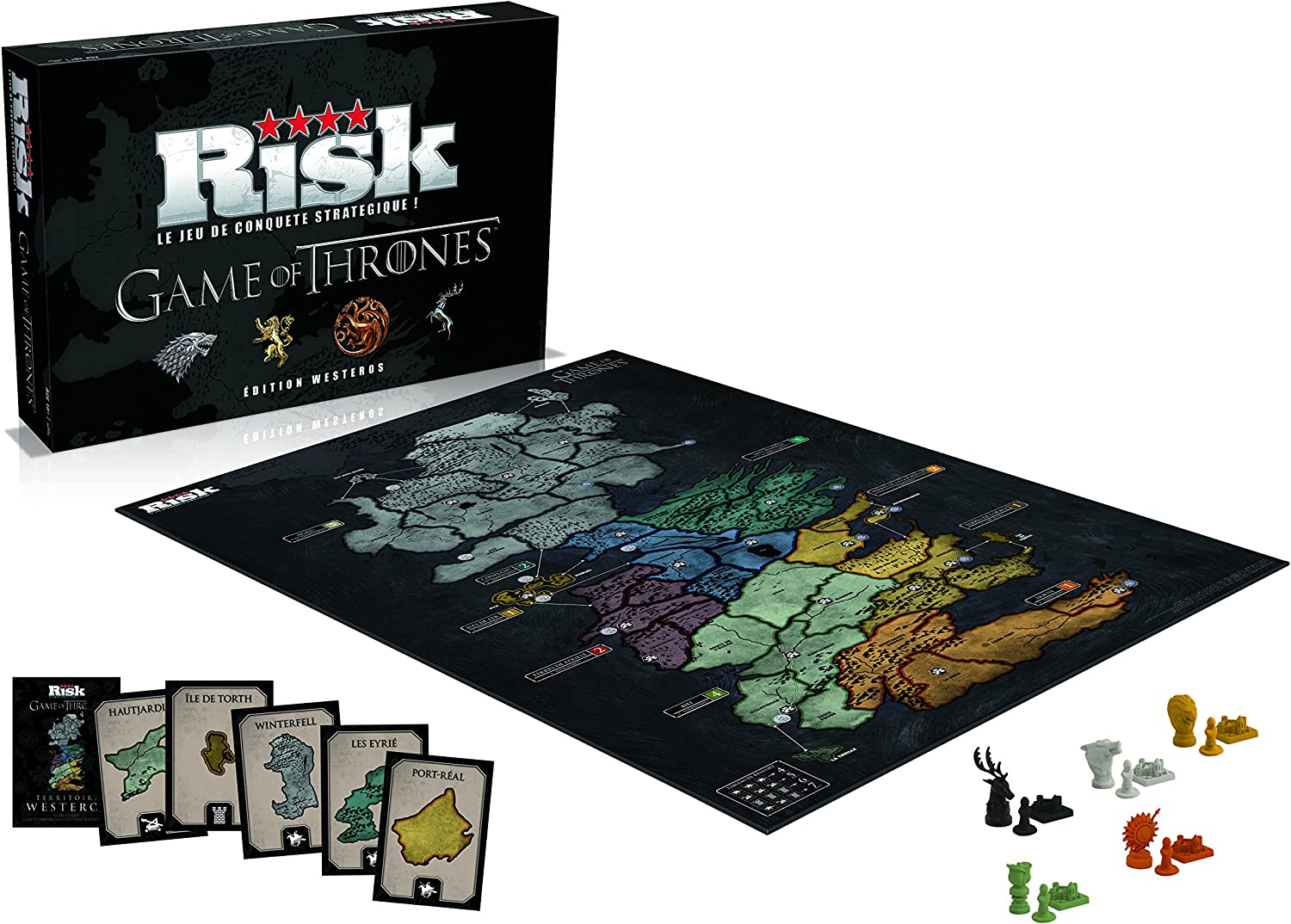 Winning Moves – 0194 – Risk Game of Thrones – Edition Westeros ...