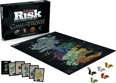 Winning Moves – 0194 – Risk Game of Thrones – Edition Westeros – Version Francesa: Amazon.es: Juguetes y juegos