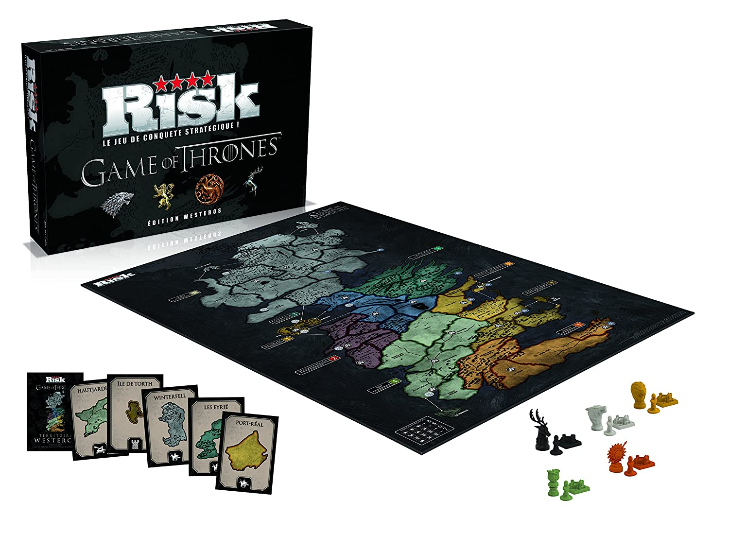 Winning Moves – 0194 – Risk Game of Thrones – Edition Westeros – Version Francesa