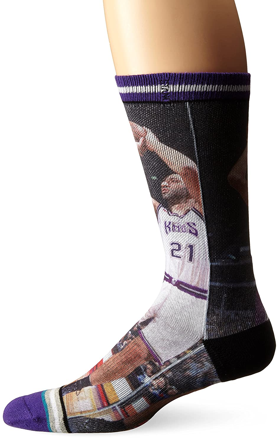 Stance vlade divac & Jason Williams Hardwood Classics NBA Legends Calcetines, multicolor: Amazon.es: Deportes y aire libre