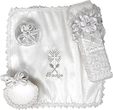 Model 8 Salve Regina Hand Made Catholic Christening//Baptism Kit