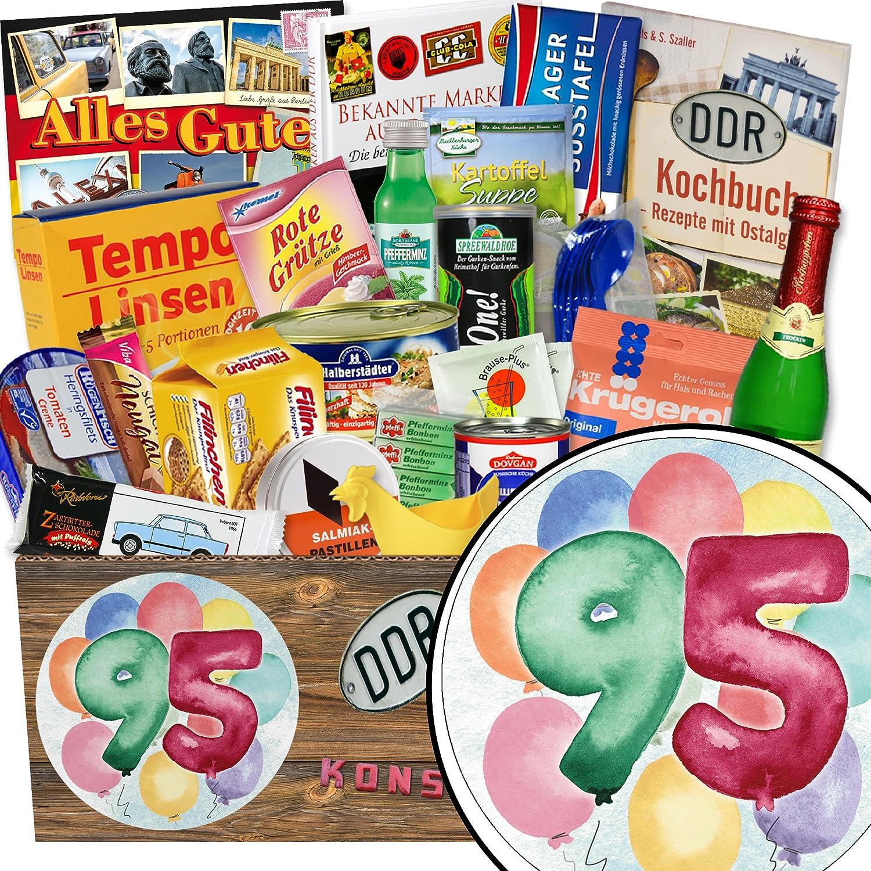 Geschenke Geschenke Geschenke zum 95. | Spezial Geschenk | Geschenk Box | INKL. Markenbuch | Ossi Produkte 2665e9