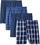Fruit of the Loom Mens JC4P590 Premium Woven Boxer (4 Pack) Boxer Shorts