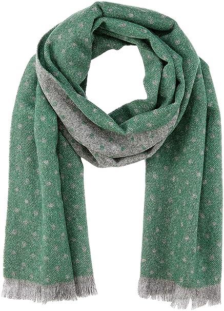 precio competitivo aa0ba 19f04 Cortefiel 2376709, Bufanda de Lana Para Mujer, Verde, talla ...