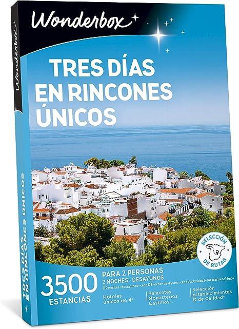 WONDERBOX Caja Regalo - Tres DÍAS EN RINCONES ÚNICOS - 3.500 ...
