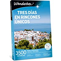 WONDERBOX Caja Regalo día de la Madre - Tres DÍAS EN RINCONES ÚNICOS - 3.500 estancias en España y Europa