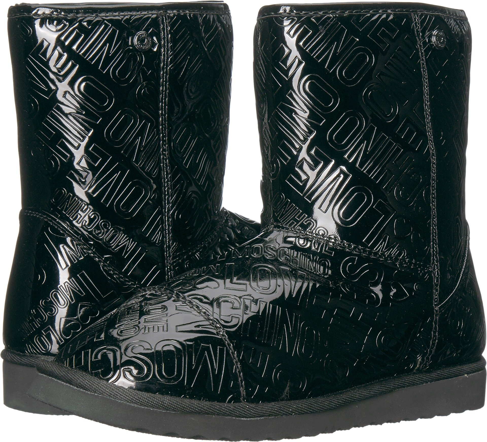 Love Moschino Women's Ankle Boots Black 38 M EU