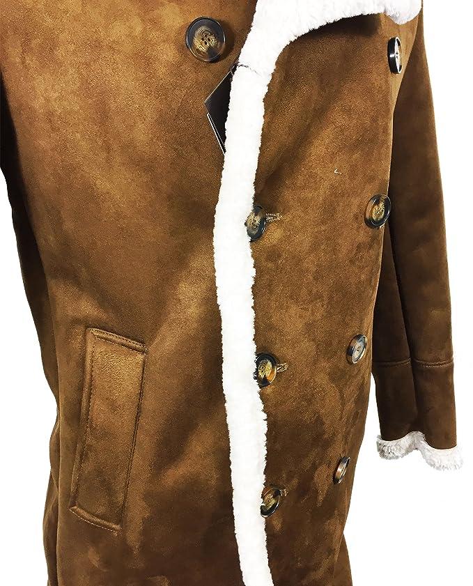 Zara - Abrigo - para hombre marrón marrón XL: Amazon.es: Ropa y accesorios