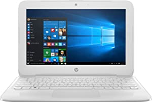 HP Stream 11.6 Laptop with Windows 10 S Intel N4000 32GB eMMC 4GB White