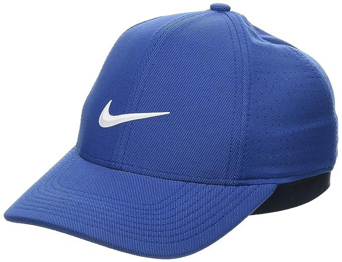 Nike AA2260 Gorra de béisbol, Azul (Azul 431), Small (Tamaño del ...