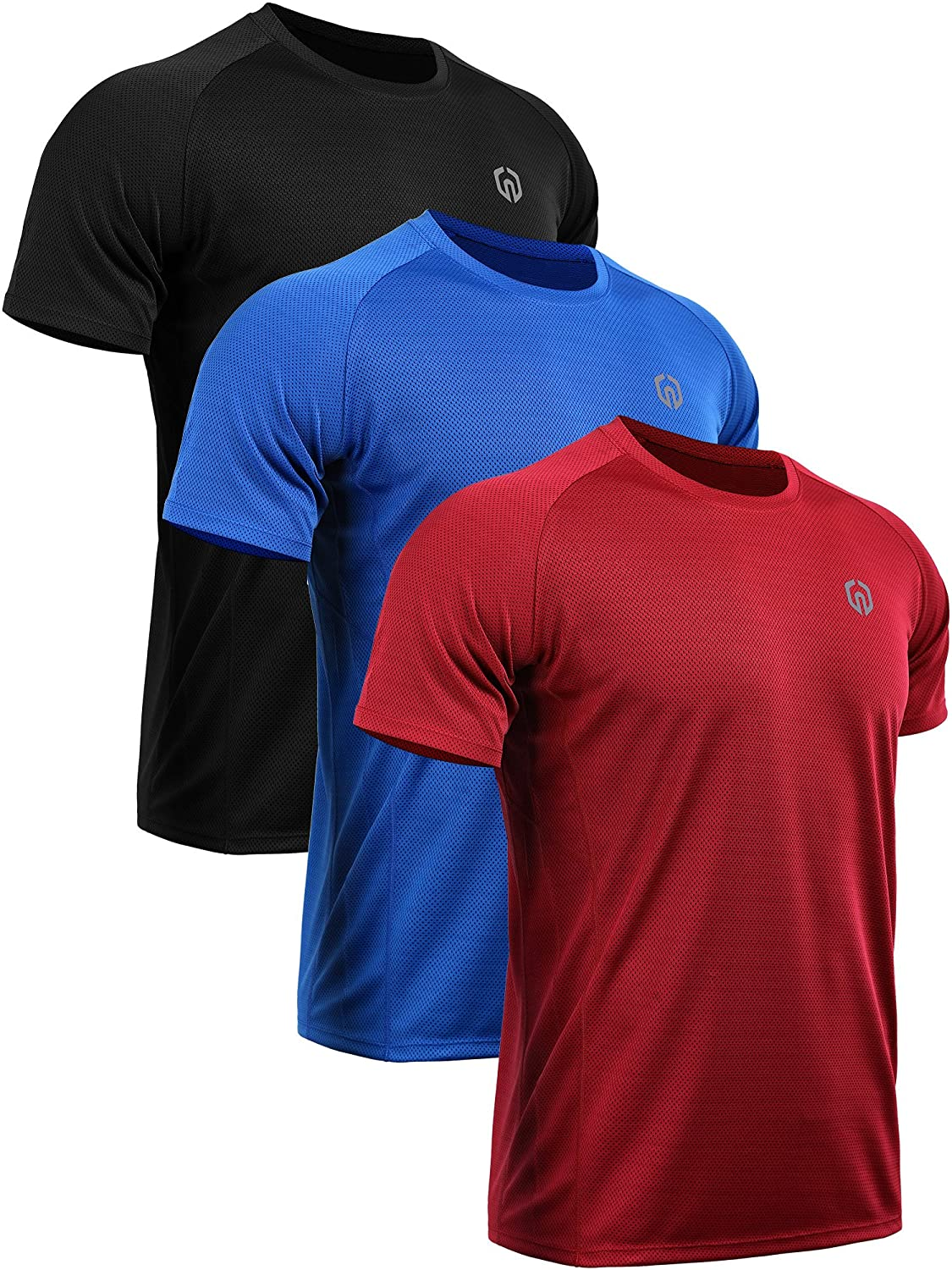 Neleus Mens Dry Fit Mesh Athletic Shirts At Amazon Mens Clothing