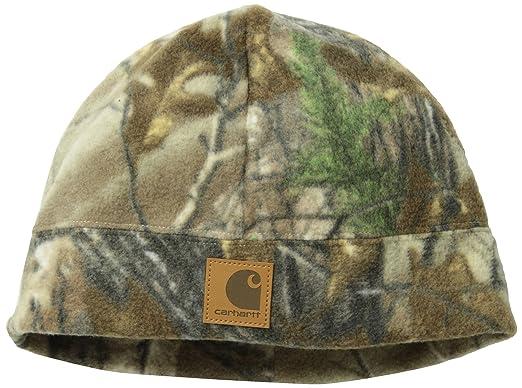 1aac3277d50ab Carhartt Men s Workcamo Fleece Hat at Amazon Men s Clothing store  Cold  Weather Hats