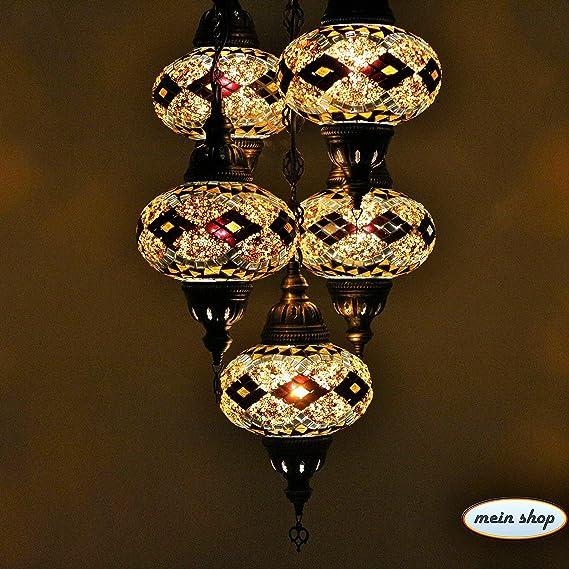 Orientalische Lampe Weihnachtsgeschenk Mosaiklampe Hängelampe Deckenlampe