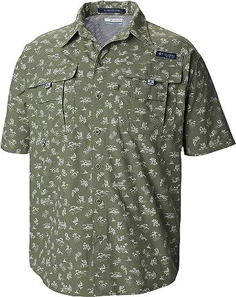 Columbia Super Bahama Short Sleeve Shirt Camisetas atléticas para Hombre