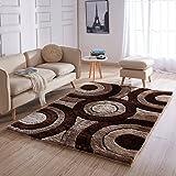 Amazon Com On Sale 3d Shag Collection 3d Gray Area Shag