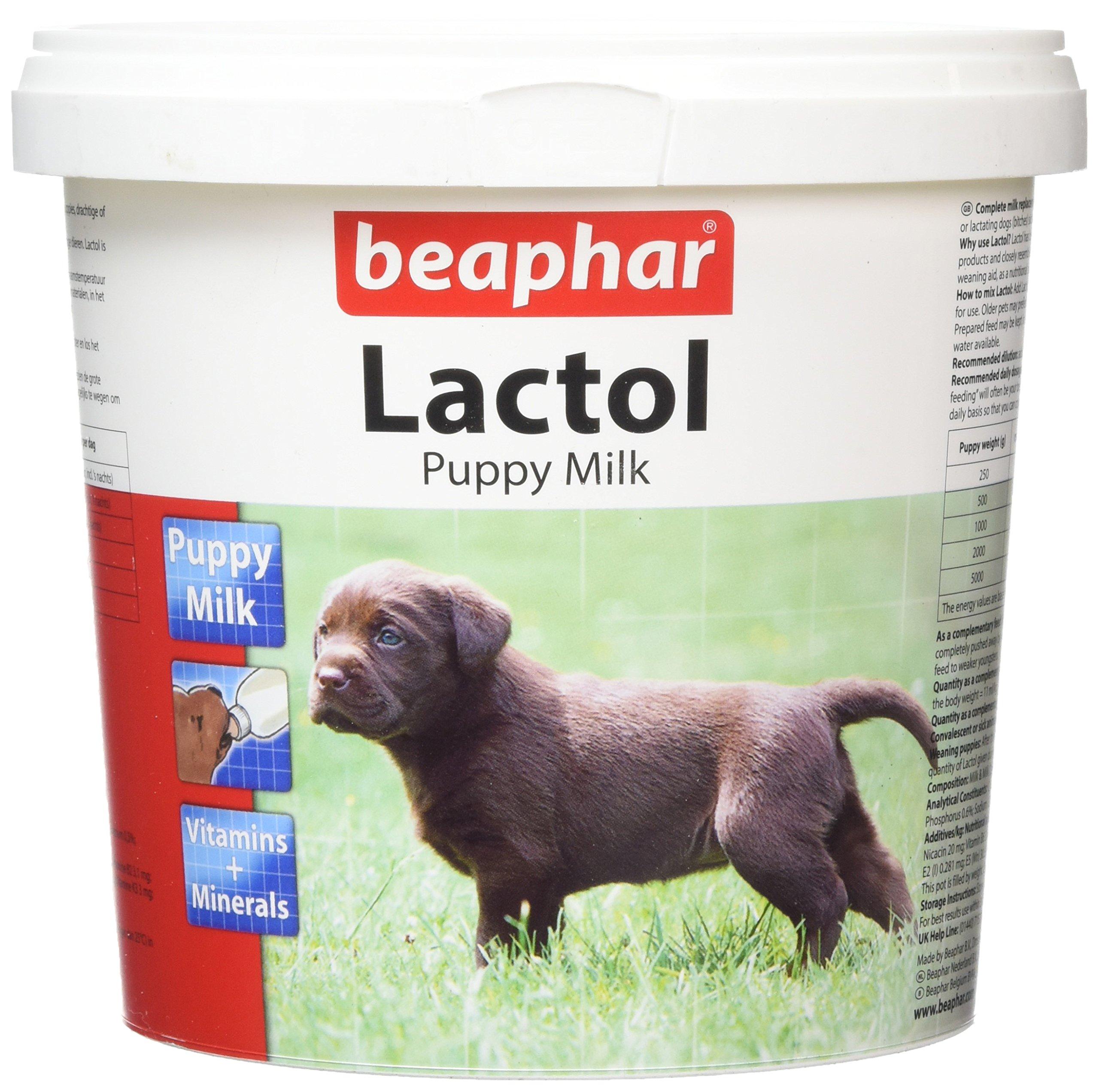 Beaphar Lactol Milk Supplement for Puppies 500 g