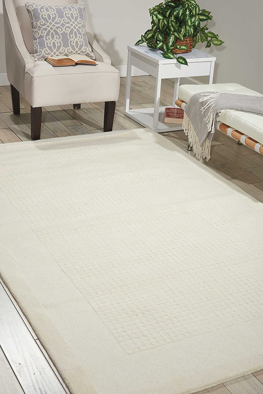Special sale item Nourison Westport Ivory Rectangle Area 10-Feet 6- Rug Over item handling ☆ by 8-Feet