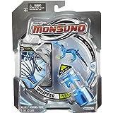 Giochi Preziosi 70438811 Monsuno Starter Pack 2 Wipper - Figura, núcleo y paquete de 3 cartas