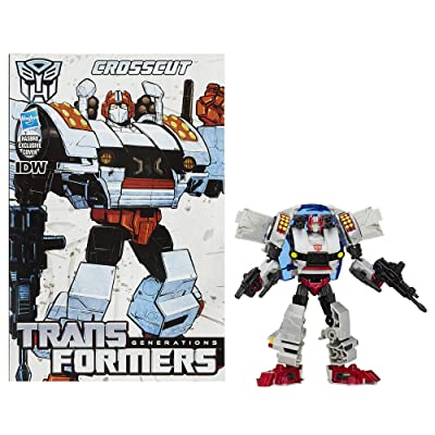 Transformers Generations Deluxe Class Crosscut Figure: Toys & Games