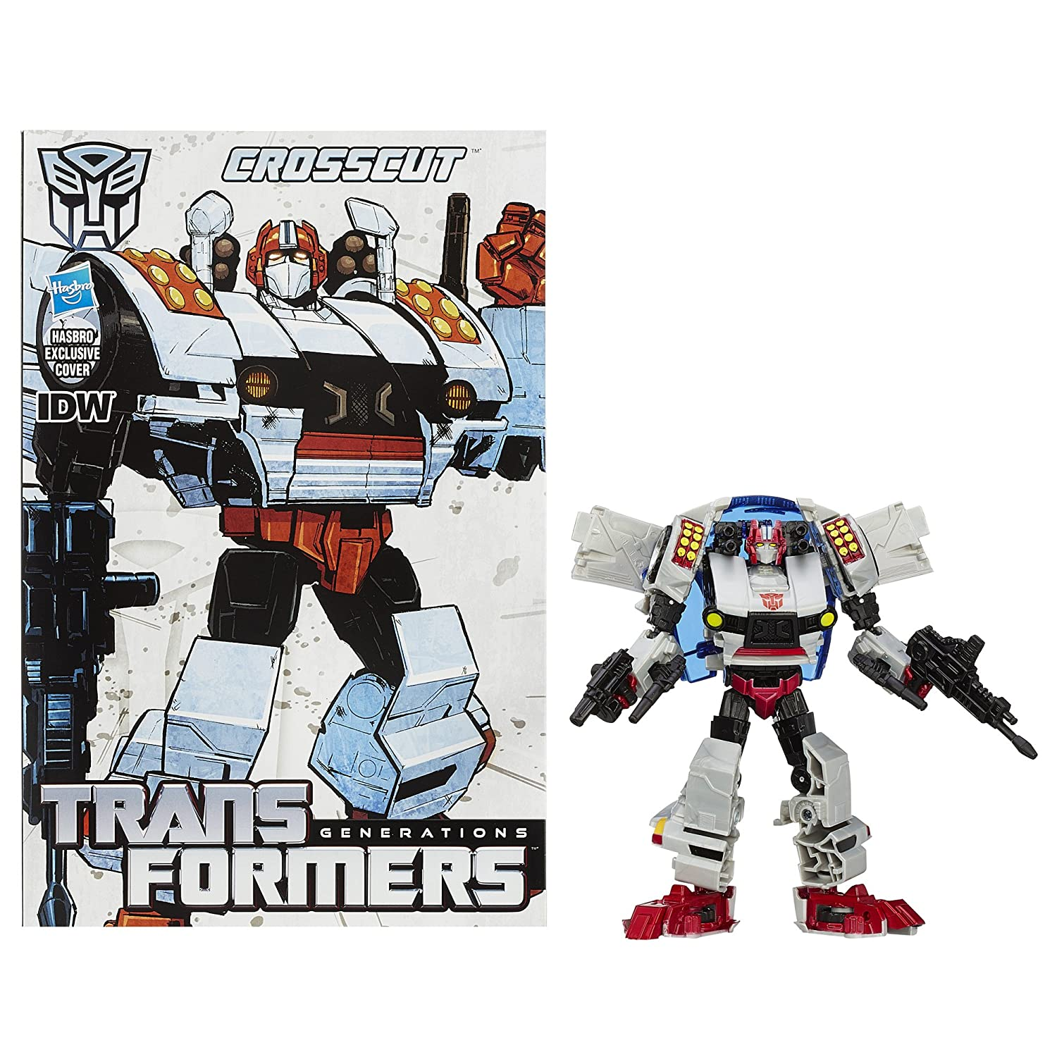 Transformers Generations Deluxe Class Crosscut Figure A6346000
