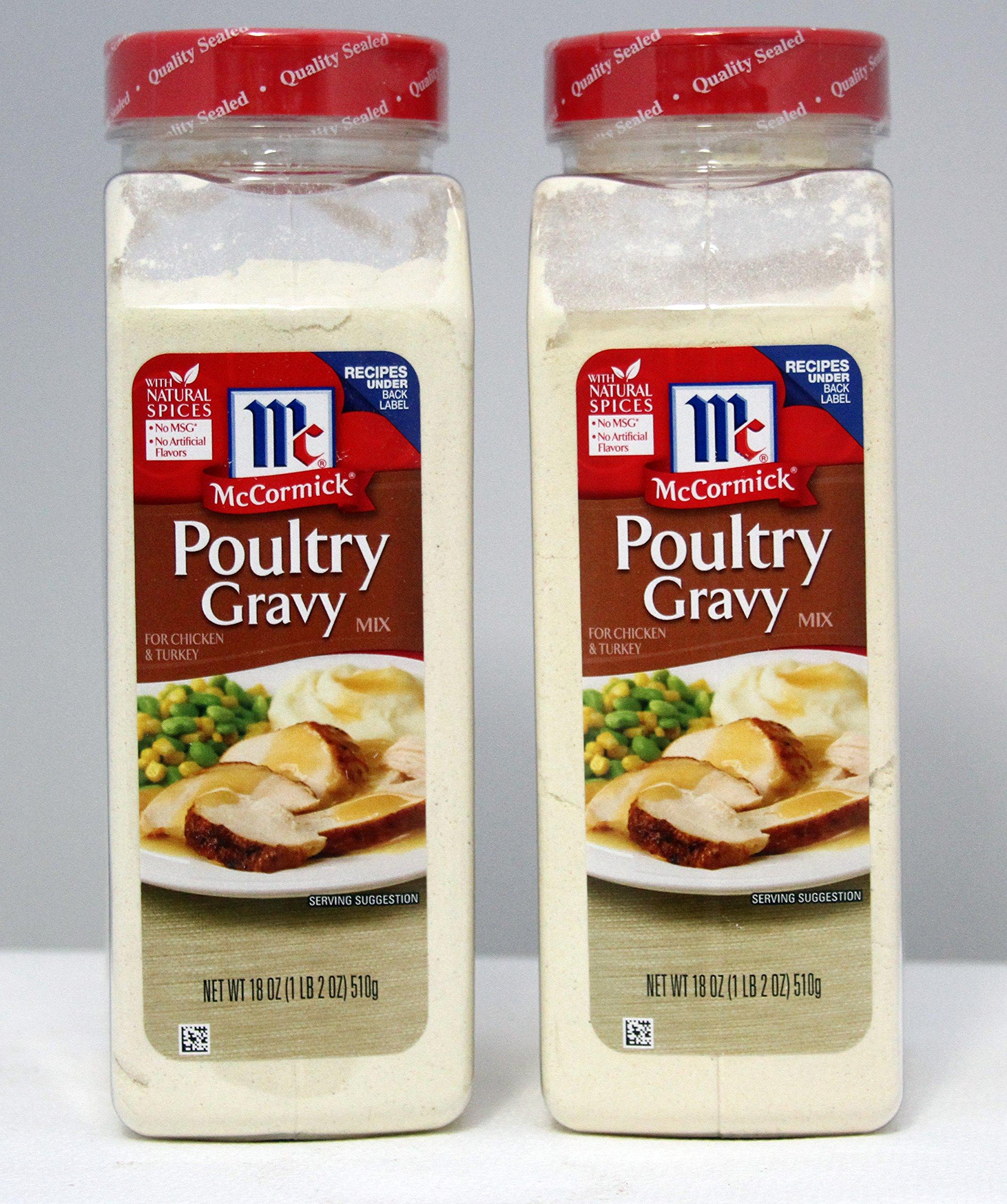McCormick Poultry Gravy, 18 oz. (2 pack)