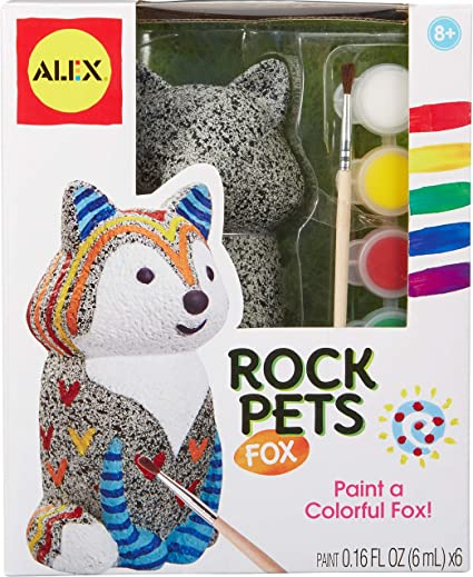 Rock Pets Owl Arts /& Crafts Toy New Toy