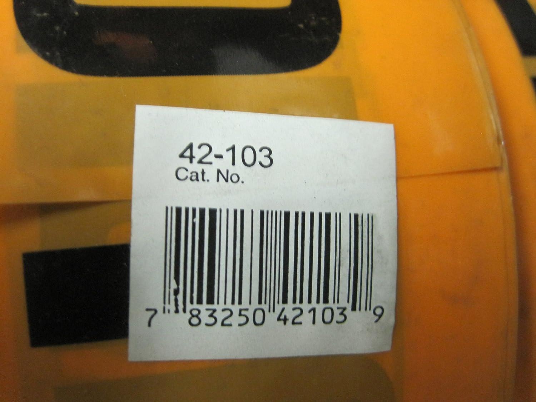 3 x 1 Ideal 42-103 Non-Detectable UndergroundCaution Buried Telephone Line Below Tape 000 Size Orange 3 x 1 000/' Size Fotronic Corporation