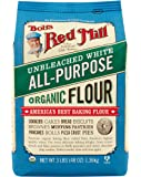 Bob's Red Mill Organic Unbleached White Flour, 48 oz