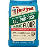 Bob's Red Mill Organic Unbleached White All-Purpose Flour, 48 Ounce