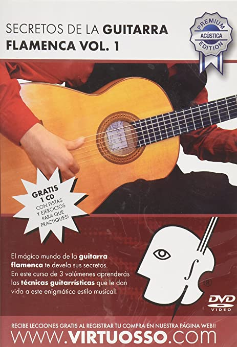 Virtuosso Flamenco Guitar Method Vol.1 (Curso De Guitarra Flamenca Vol.1)