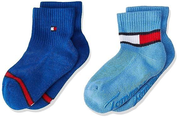 997e5ae5d Tommy Hilfiger Unisex Baby TH BABY HERITAGE ABS SOCK 2P Socken, 2per pack  Blau (blue combo 168), 15-18 (Herstellergröße: 15-18): Amazon.de: Bekleidung