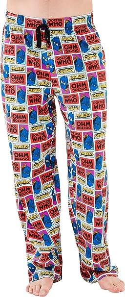 Doctor Who pantalones del pijama para Hombre Doctor Who: Amazon.es: Ropa y accesorios
