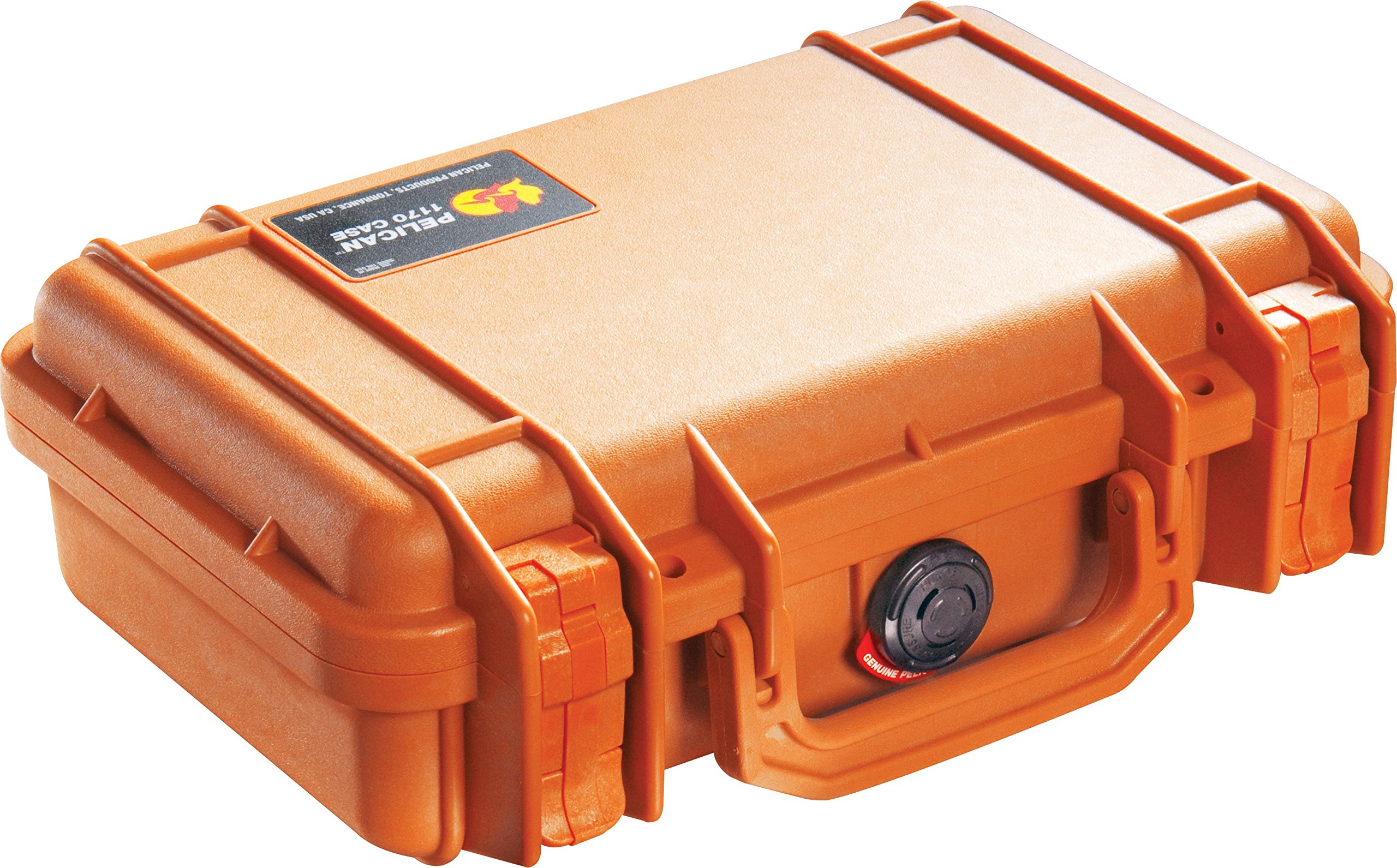 Pelican 1170 Case With Foam (Orange) by Pelican
