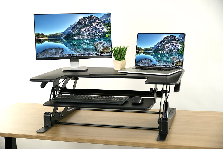 VIVO Height Adjustable Stand up Desk Converter