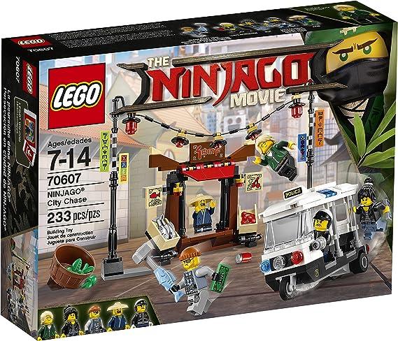 Amazon Com Lego Ninjago Movie City Chase 70607 Building Kit 233 Piece Toys Games